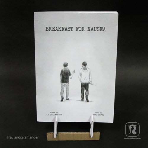 Product image for the comic 'Breakfast for Nausea'.